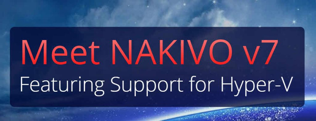 Nakivo Backup & Replication 7