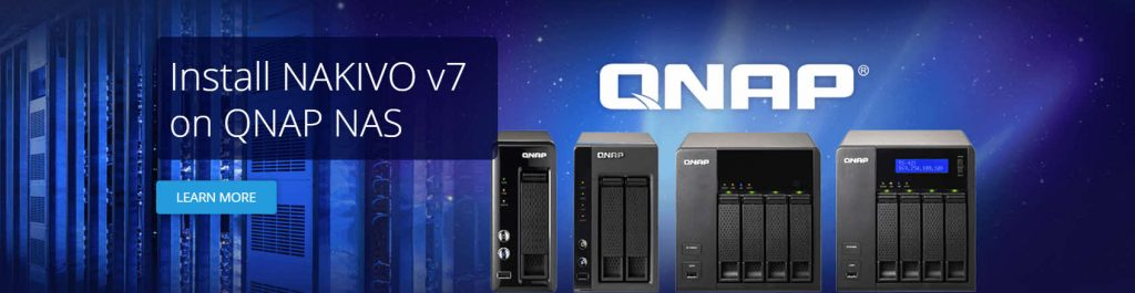 Nakivo VM Backup Appliance - QNAP