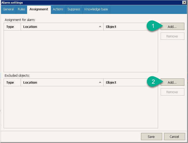 Veeam ONE Alarm - Assignment