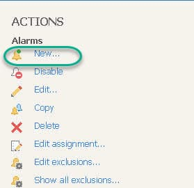 Veeam ONE New Alarm