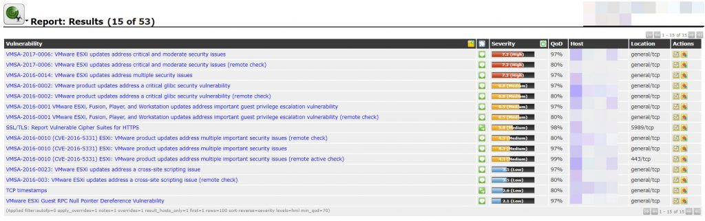 Virtual Environments Vulnerability Assessment By GSM (OpenVAS) - Part 2