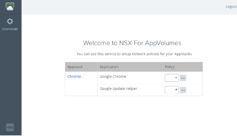 NSX for App Volumes
